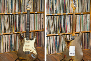 Rory Gallagher Stratocaster and record collection