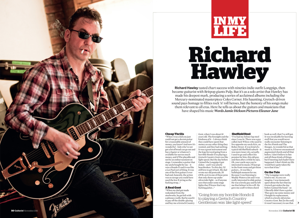Richard Hawley Guitarist 1