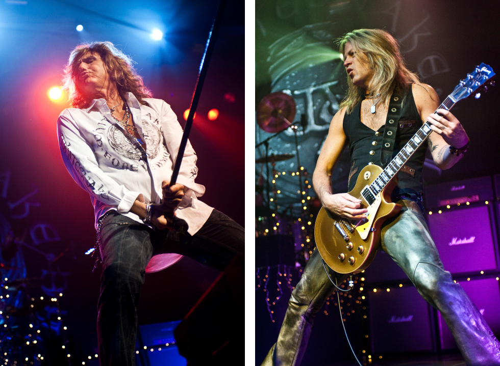 Doug Aldrich Whitesnake behind-the-scenes duo 3