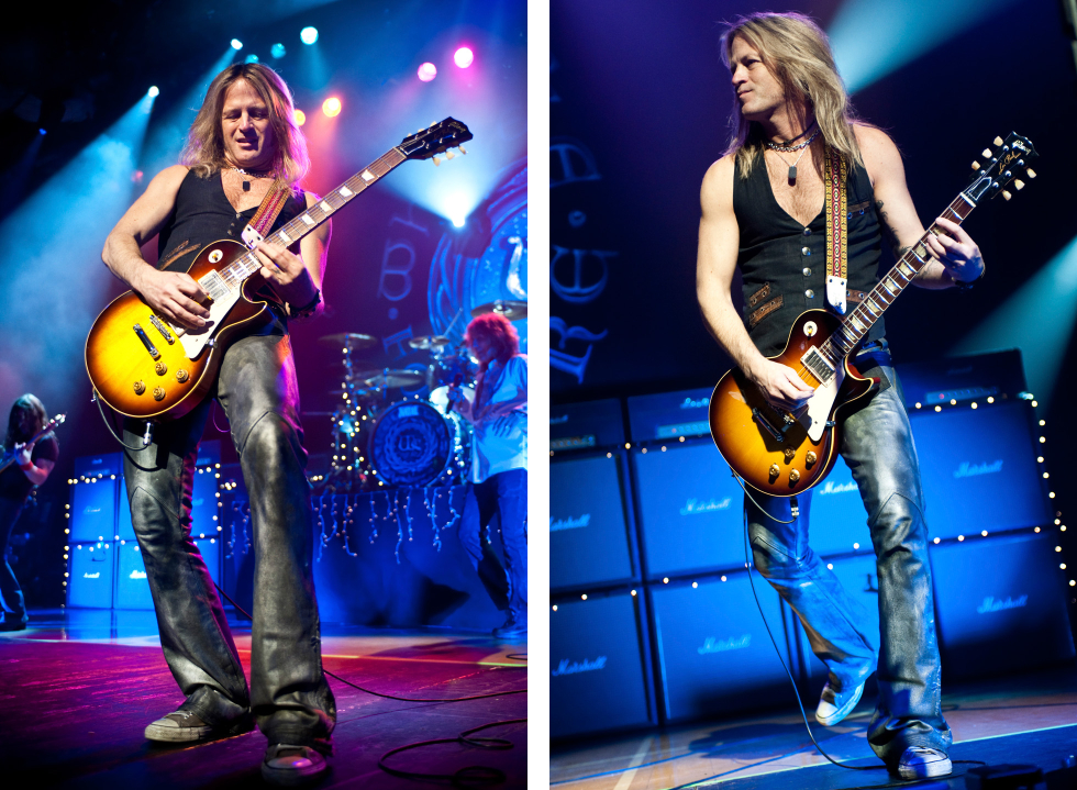 Doug Aldrich Whitesnake behind-the-scenes duo 4