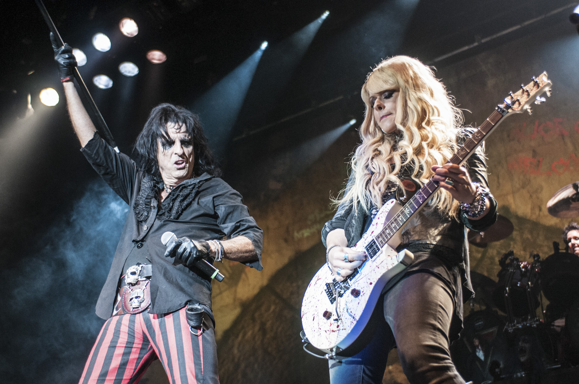 Orianthi Live With Alice Cooper