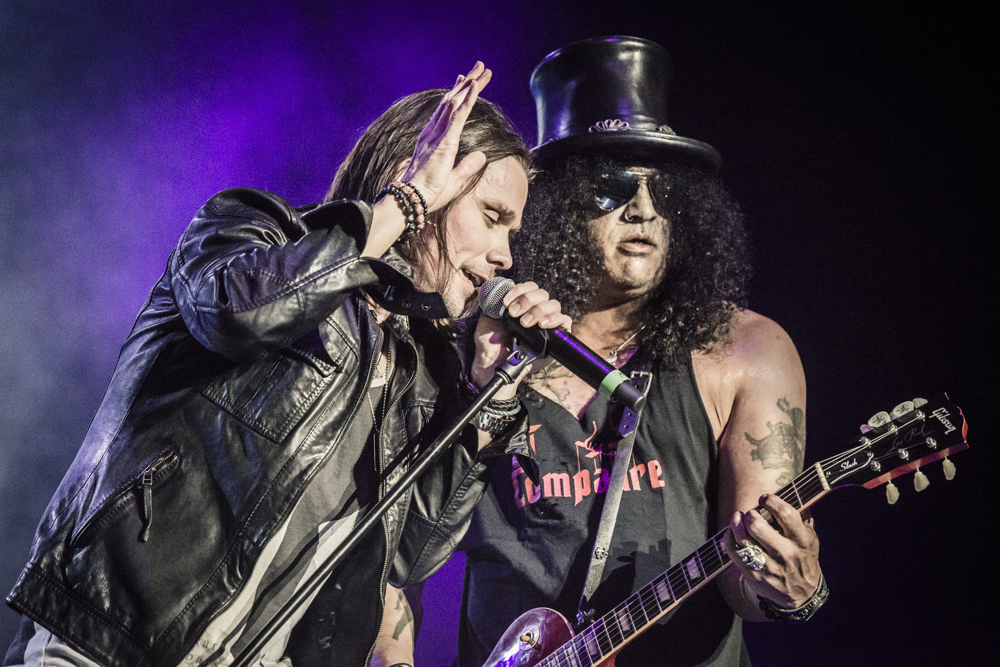 Slash & Myles Kennedy at Birmingham LG Arena