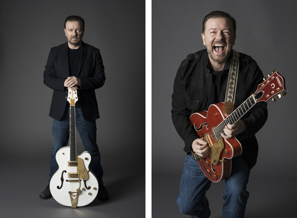 Ricky Gervais - Guitar Aficionado - Eleanor Jane Photography 4